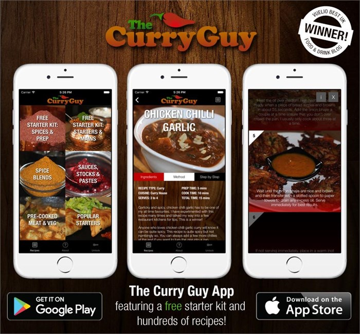 Curry Guy App